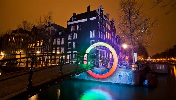 Amsterdam Light Festival Circle of Life