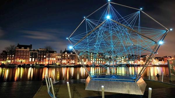Amsterdam Light Festival Uniting Lightstar