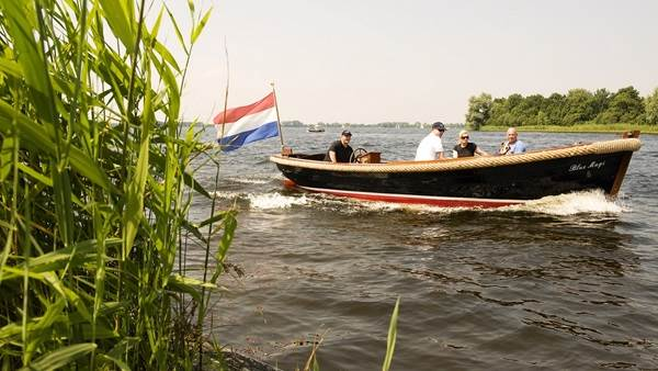 Waterland plassen boot Amsterdam