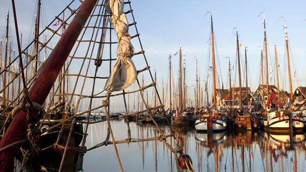Oud Holland haven Amsterdam