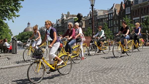 Image result for amsterdam fietsroute