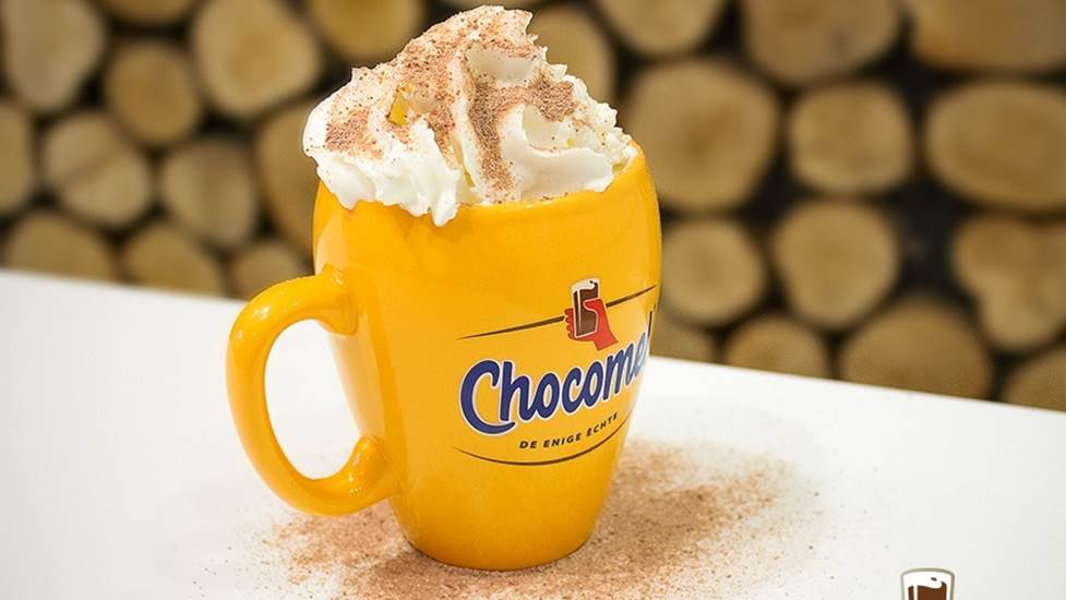 Image result for Hot Chocomel amsterdam