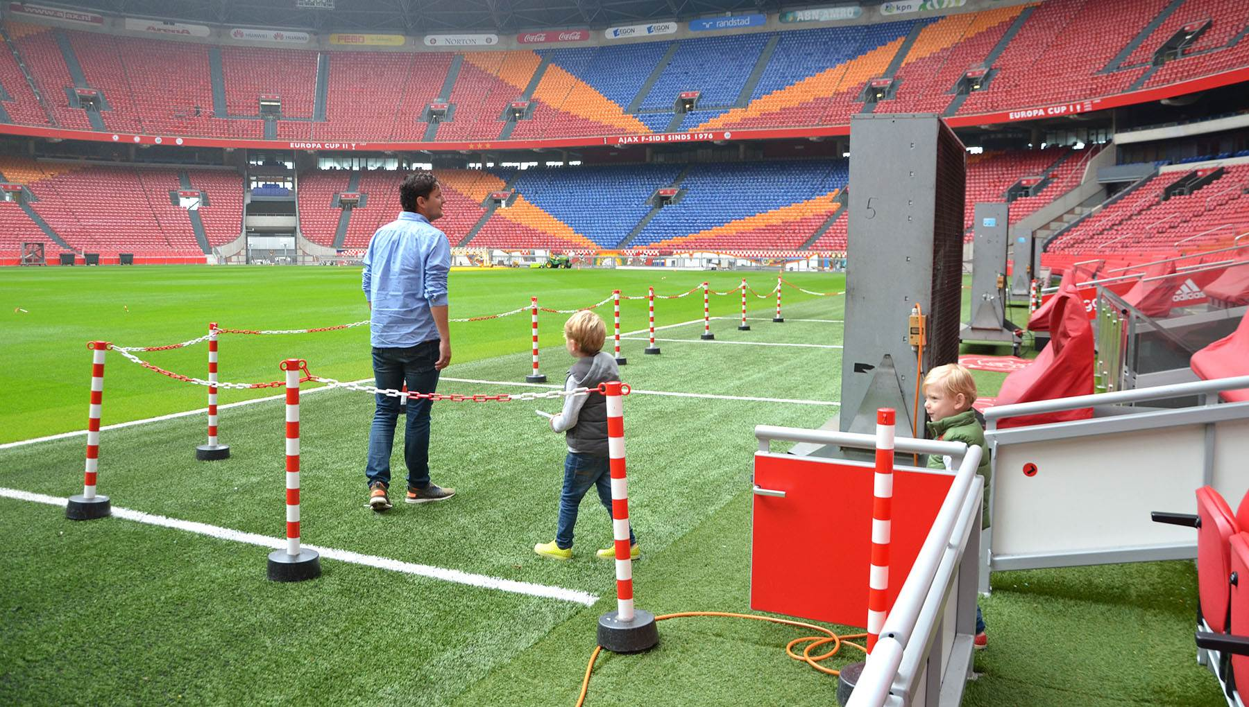 Football stadium Amsterdam