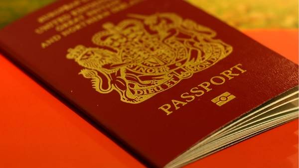British Passport Amsterdam
