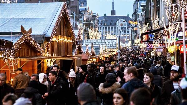Amsterdam winter holiday market, Edwin van Eis