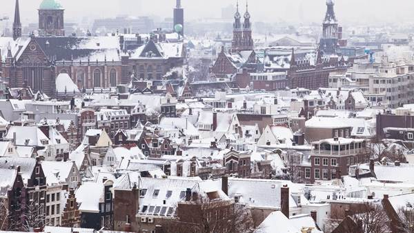 Amsterdam winter Chris Toala Olivares