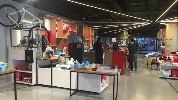 I amsterdam Store Centraal Station