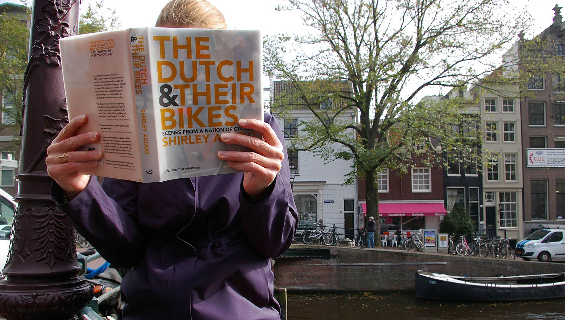 The Dutch and their bikes book Amsterdam gift