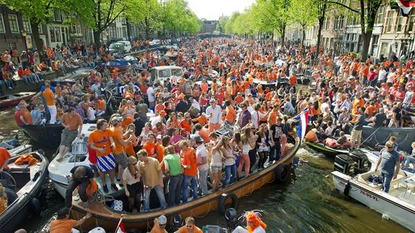 King's Day canals