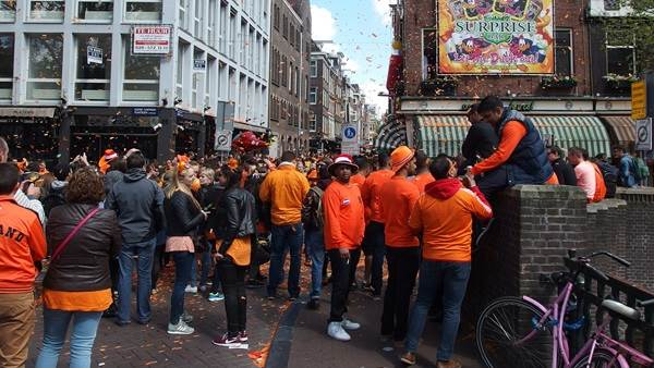 King's Day Amsterdam CC BY 2.0 Guilhem Vellut via Flickr