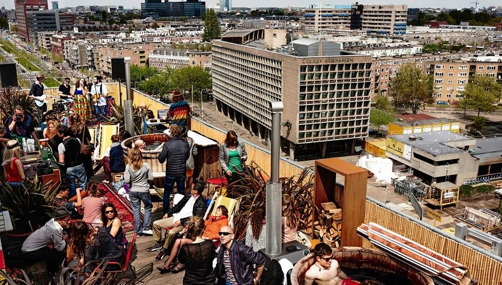 Best rooftop terraces in Amsterdam | I amsterdam