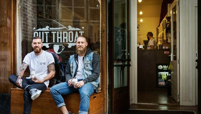 Cut Throat Barber & Coffee - foto: Matteo Rossi