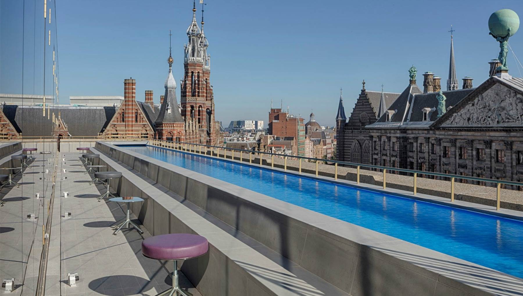 W Amsterdam roof terrace