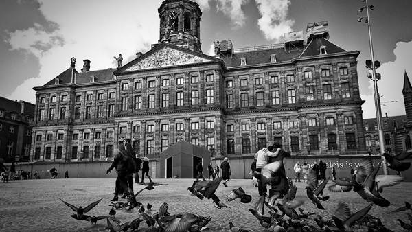 Dam Square Amsterdam by Sandeep Pawar