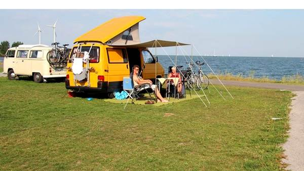 Amsterdam campsite Camping Jachthaven Uitdam