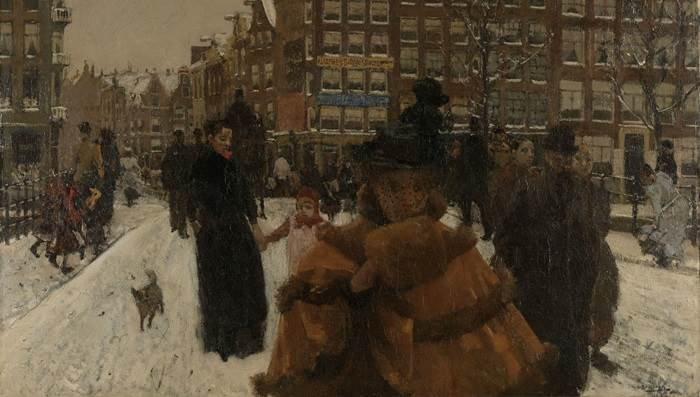 Singel Bridge by Breitner at the Rijksmuseum