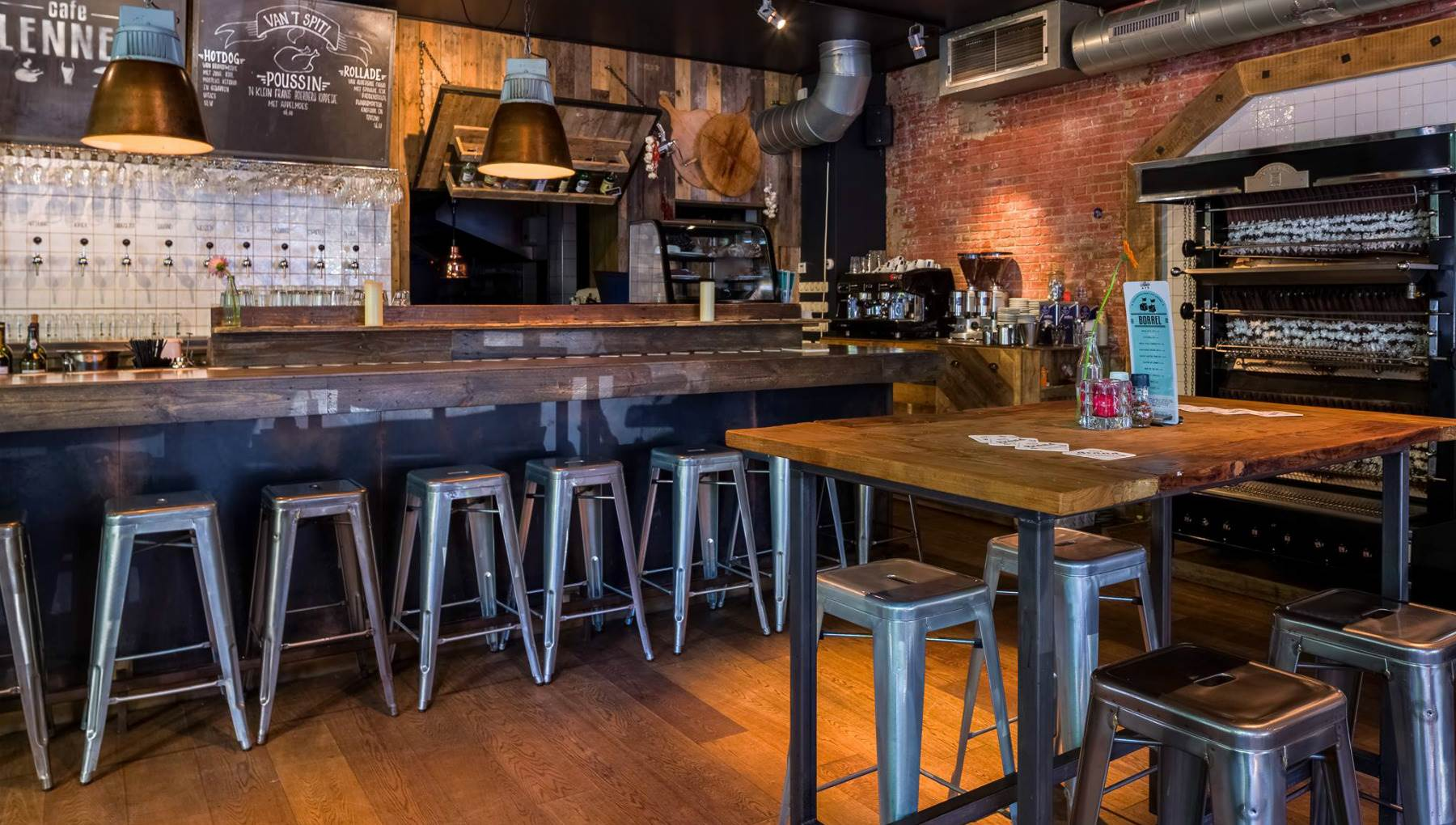 Cafe, restaurants, bars: a selection of sites
