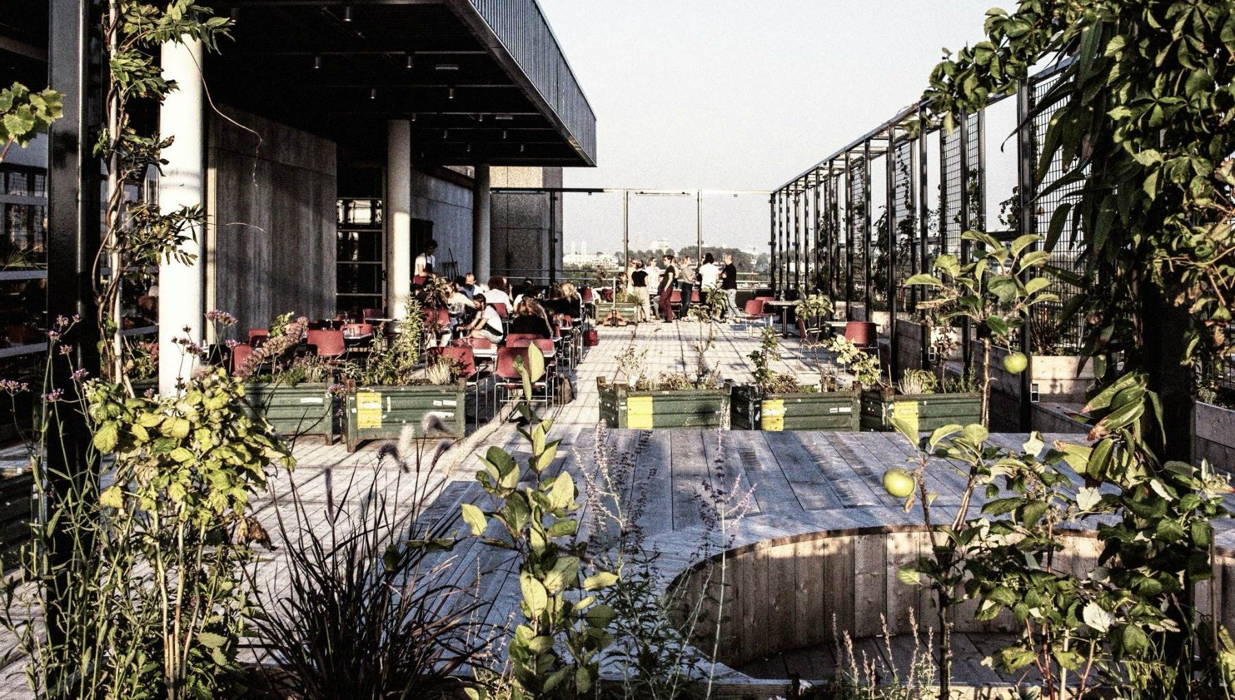 10 Rooftop Terraces In Amsterdam I Amsterdam