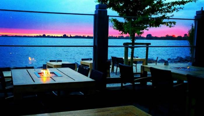 Celebrate A Special Occasion Just Outside Amsterdam At This Waterside Restaurant The Terrace Provides Magnificent View Over Lake Where You Can Enjoy