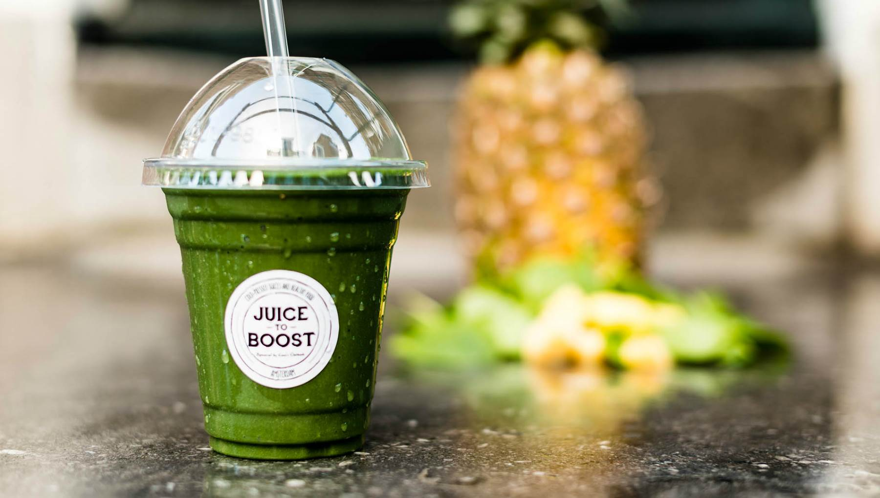 Juice To Boost - Healthy Green