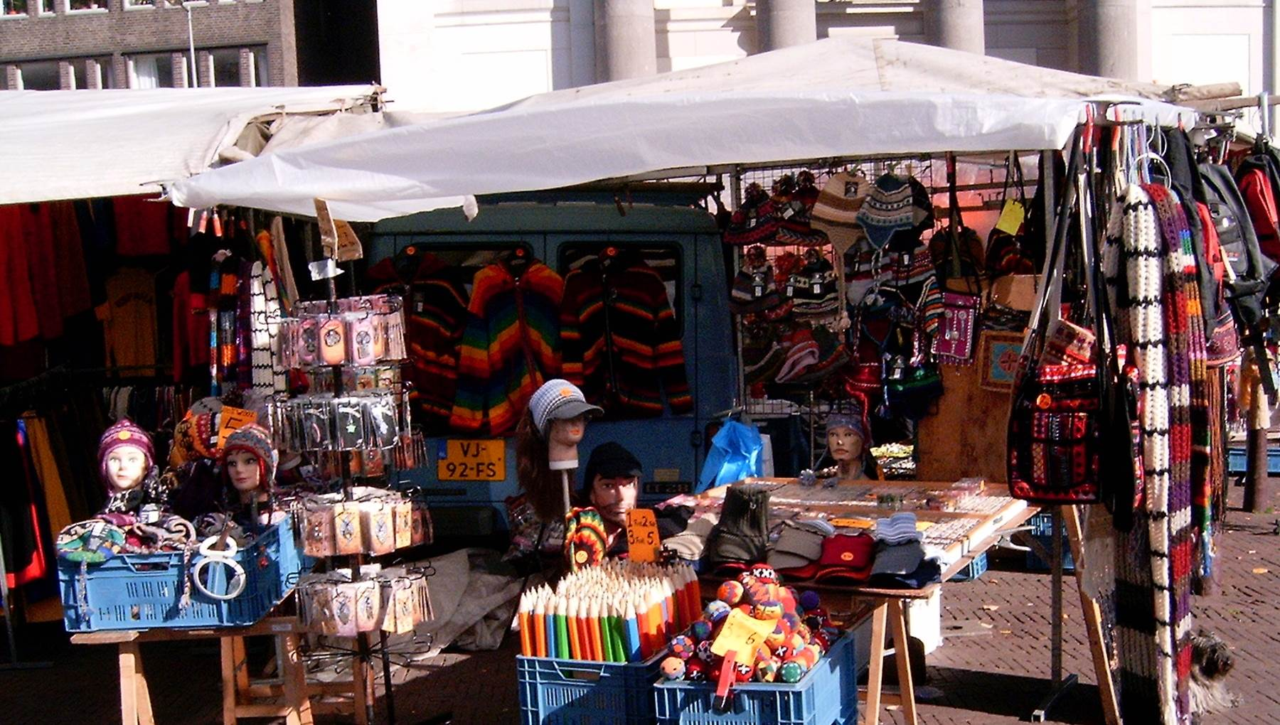 Waterloopleinmarkt Amsterdam