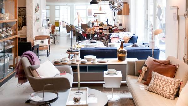 Amsterdam Friday Next design vintage meubel winkel cafe, Elisah Jacobs