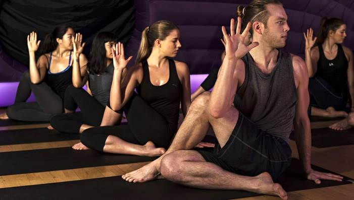 Hot Pod Yoga Amsterdam