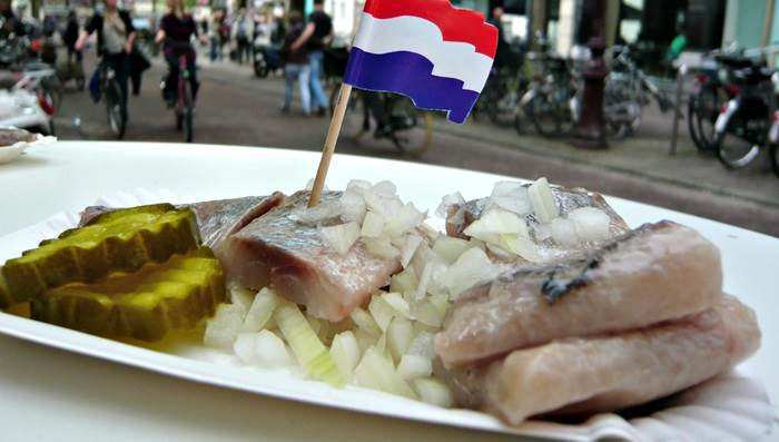 Raw herring in Amsterdam Jessica Spengler